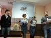 Конференция ВЕГИ (18.02.2012). На представлении своей мастерской, с коллегами.